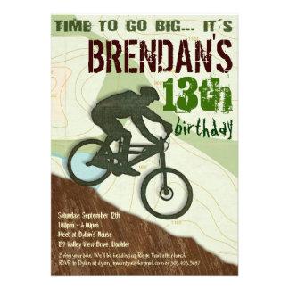 Mountain Bike - Bike Party Invitation