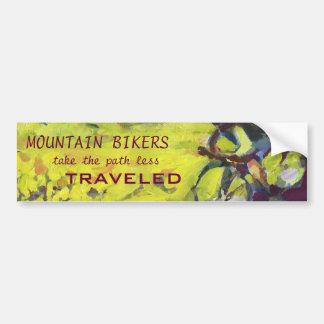 Mountain Bike Bumber Sticker Bumper Stickers