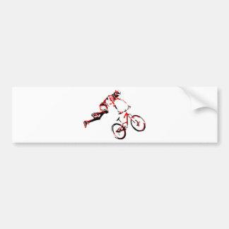 Mountain Bike Bumper Sticker