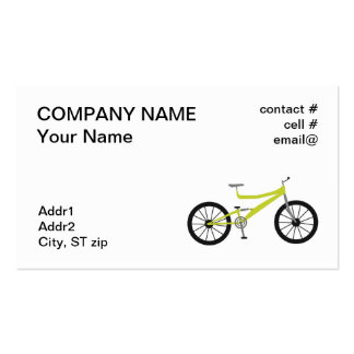 mountain bike business card templates