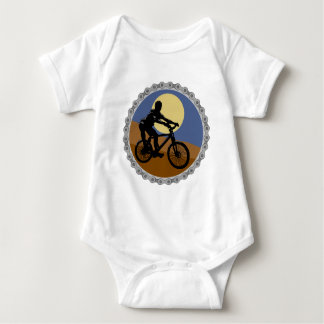 mountain bike chain sprocket design baby bodysuit