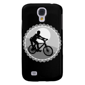 mountain bike chain sprocket grayscale samsung galaxy s4 cover