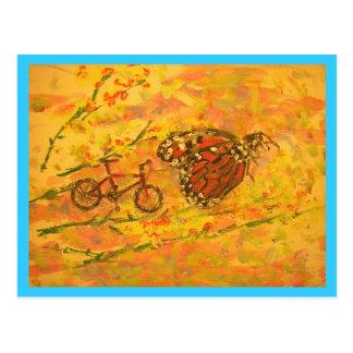 Mountain Bike Colorado Postcard