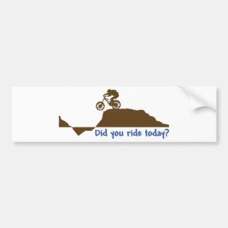 Mountain Bike - Day Ride Bumper Sticker