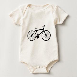 Mountain Bike Design Baby Bodysuit