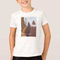 Mountain Bike Goats T Shirt
