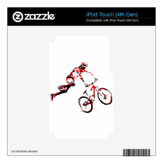 Mountain Bike iPod Touch 4G Decals