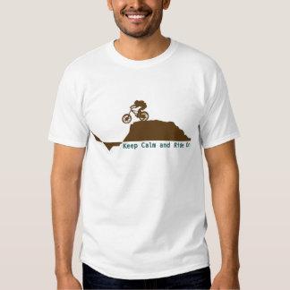 Mountain Bike - Keep Calm Tee Shirts