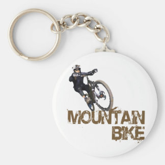 Mountain Bike Keychain