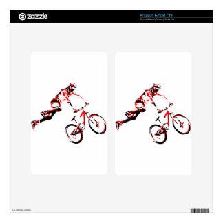 Mountain Bike Kindle Fire Skins