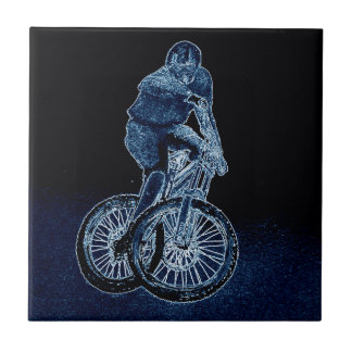 Mountain bike Llandegla mtb bmx Ceramic Tile