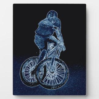 Mountain bike Llandegla mtb bmx Plaque