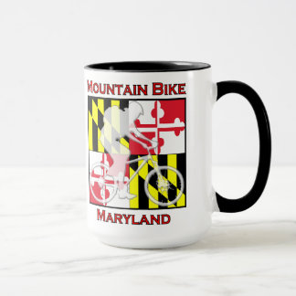 Mountain Bike Maryland Coffee Mug