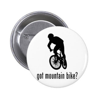Mountain Bike Pinback Button
