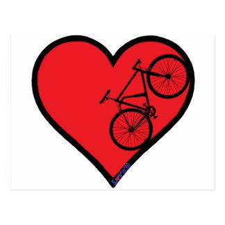 mountain bike postcard