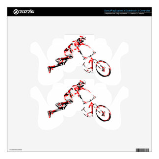 Mountain Bike PS3 Controller Skin