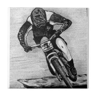 Mountain Bike Ride Tile