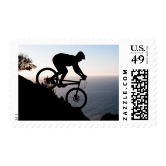 Mountain Bike Rider. Lions Head, Cape Town Postage