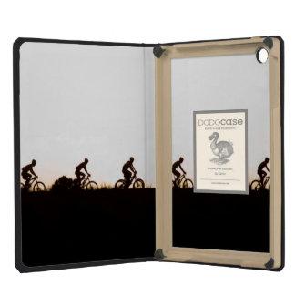 Mountain Bike Riders Make Their Way Over The Dam iPad Mini Retina Cover