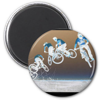 Mountain Bike Sequence 2 Inch Round Magnet
