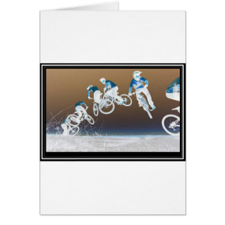 Mountain Bike Sequence Card