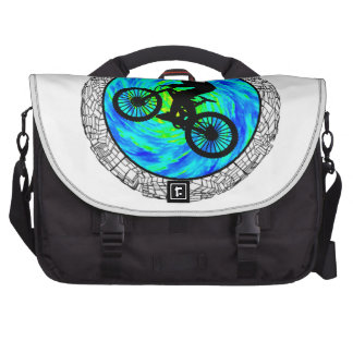 MOUNTAIN BIKE TRACKED LAPTOP COMMUTER BAG