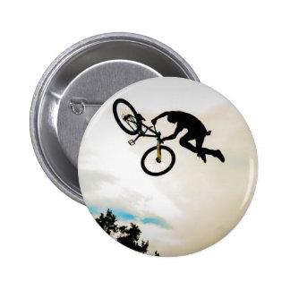 Mountain Biker Air Time Silhouette Pins