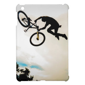 Mountain Biker Air Time Silhouette Case For The iPad Mini