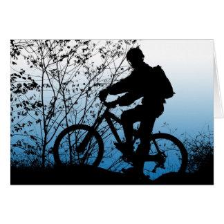 Mountain Biker Card
