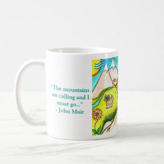 Mountain Biker Girl Coffee Mug