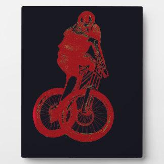 Mountain Biker MTB BMX CYCLIST Plaque