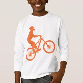 Mountain biker silhouette T-Shirt