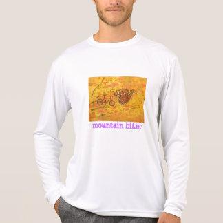 mountain biker tshirt