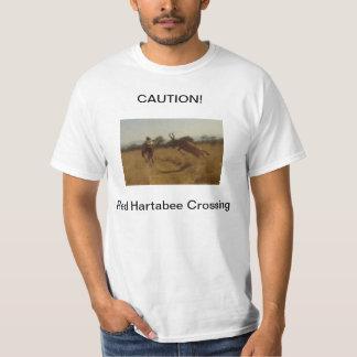 Mountain Biker Vs. Buck in Africa Tee Shirt