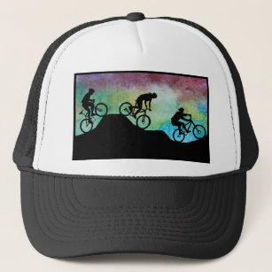 Sunset On Mountains Baseball Trucker Hats Zazzle. Specialized Flexfit Trucker  Snapback Hat d6840ca240dd