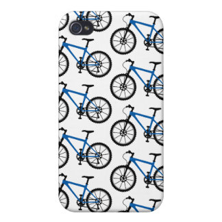Mountain Bikes - blue iPhone 4S iPhone 4 Covers