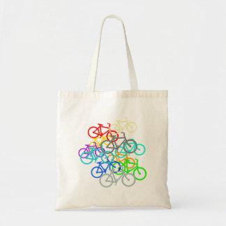 Mountain Bikes Tote Bag