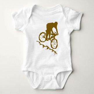 Mountain Biking Bicycle Baby Bodysuit