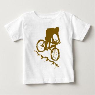 Mountain Biking Bicycle Baby T-Shirt