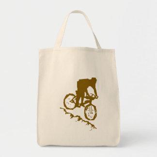 Mountain Biking Bicycle Tote Bag