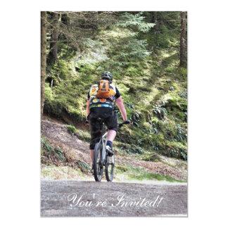 MOUNTAIN BIKING CARD