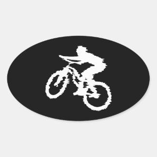 Mountain Biking Fast Sticker