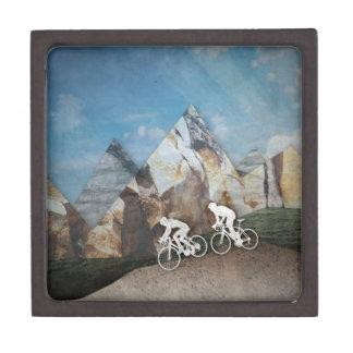 Mountain Biking Jewelry Box