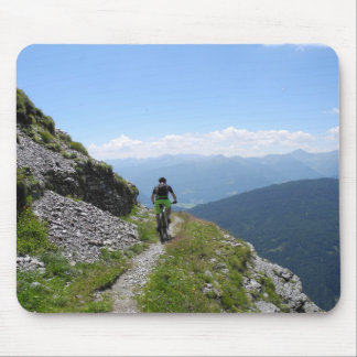 Mountain Biking Mouse Pad