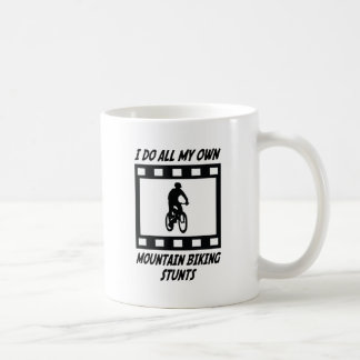Mountain Biking Stunts Coffee Mug