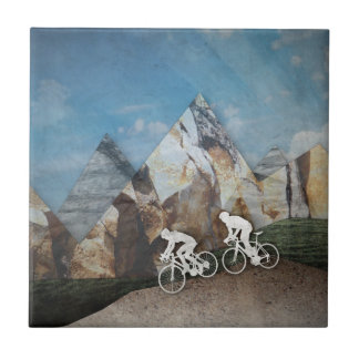 Mountain Biking Tile