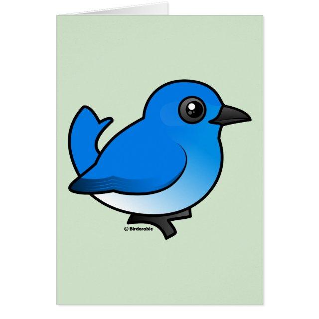 Mountain bluebird greeting card cute bird gifts mountain bluebird m4hsunfo
