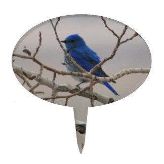 Mountain Bluebird Cake Topper
