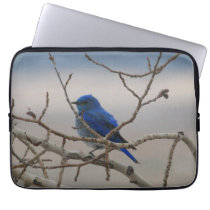 Mountain Bluebird Computer Sleeve