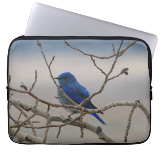 Mountain Bluebird Computer Sleeve